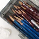 鉛筆デッサンに必要な道具