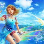 イラスト・絵画「青い空と青い海」を描きました。