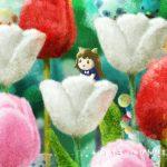 クラフトモンスターの花畑ステージ