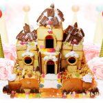 工作・クラフト「お菓子の城」を作りました。