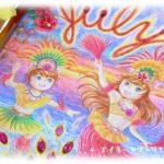 イラスト・絵画「7月のエイミー☆ruby」を描きました。