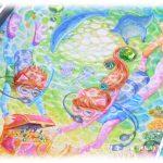 イラスト・絵画「8月のエイミー☆peridot」を描きました。