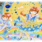 イラスト・絵画「9月のエイミー☆sapphire」を描きました。