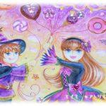 イラスト・絵画「10月のエイミー☆tourmaline」を描きました。