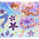 イラスト・絵画「2月のエイミー☆amethyst」を描きました。